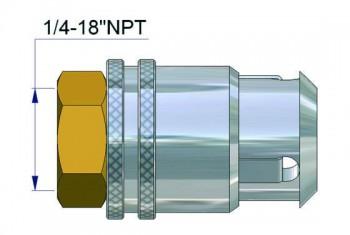 Быстродействующая зажимная муфта 32266-67