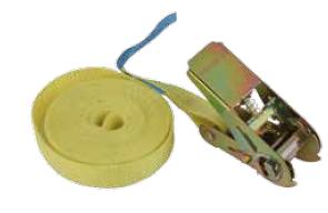 Крепежный ремень,350*2,5 см, желтый 67446-67