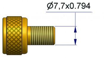 Адаптер переходник груз. вентиль/ КГШ R-0697-1